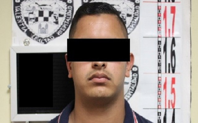 Capturan a sujeto que acuchilló a alumna de la UACH - Agresor de estudiante de la UACH. Foto de FGE Chihuahua