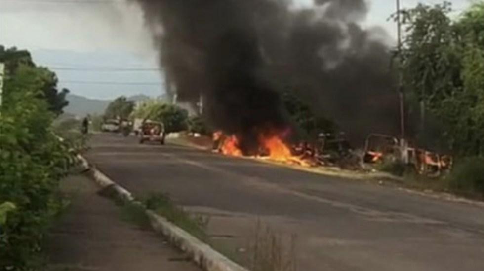 Emboscan a policías en Aguililla, Michoacán; mueren 13 agentes estatales - Foto Especial