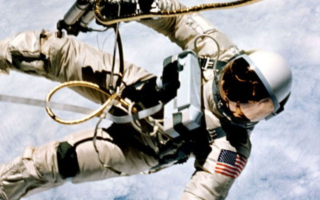 Murió Alexéi Leónov, el primer caminante espacial - Alexei Leonov. Foto de AEM.