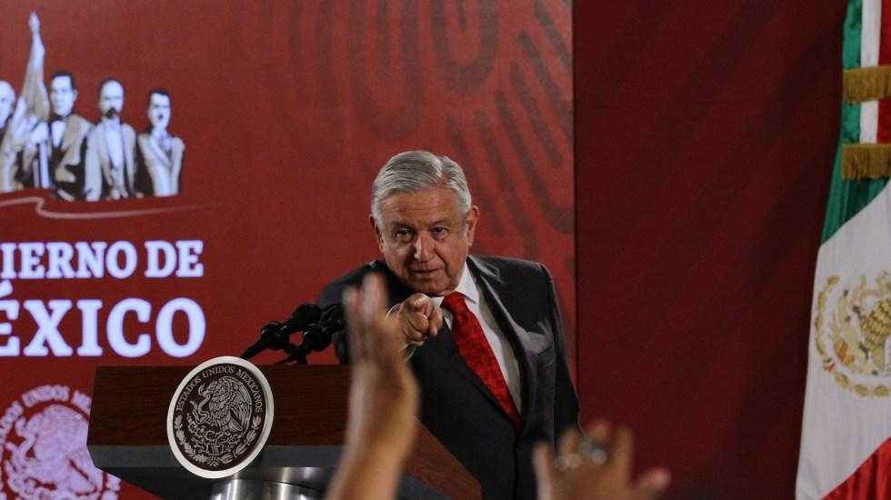 AMLO sostiene que no cederá a chantajes por paro de universidades - 91008010. Ciudad de México, 8 Oct 2019 (Notimex-Guillermo Granados).- El Presidente Andrés Manuel López Obrador durante la sesión de preguntas y respuestas en  la conferencia matutina del día de hoy. Ciudad de México, 8 de octubre de 2019. NOTIMEX/FOTO/GUILLERMO GRANADOS/GGV/POL/4TAT