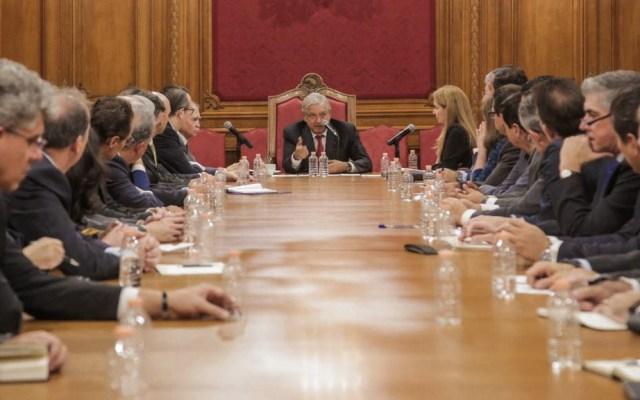 López Obrador asegura que relación con empresarios es inmejorable - AMLO empresarios empresas reunión