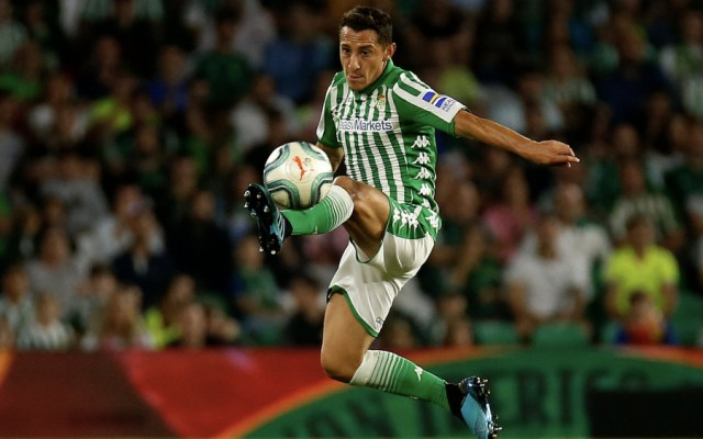 Con Andrés Guardado como titular, Betis empató con el Eibar - Foto de @RealBetis