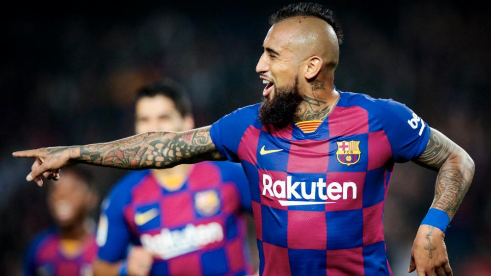Arturo Vidal expresa descontento por su poca actividad en el Barcelona - Foto de FC Barcelona