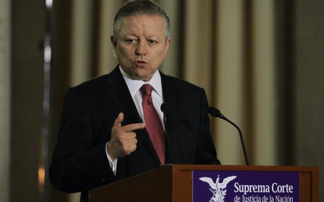 Zaldívar revela presión de Calderón al Poder Judicial por casos ABC y Cassez - Foto de Notimex