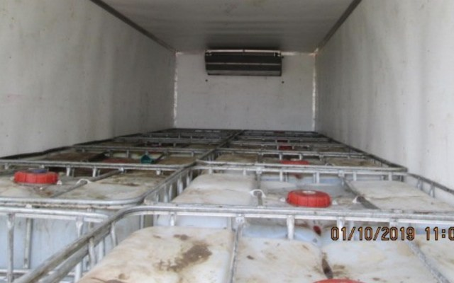 Reporta Ejército 91 mil litros de 'huachicol' asegurado en Tabasco - Foto de @DiarioDeTabasco