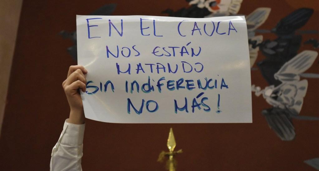 Confirman muerte de cinco indígenas en ataque de disidentes de las FARC - Foto de @PizarroMariaJo