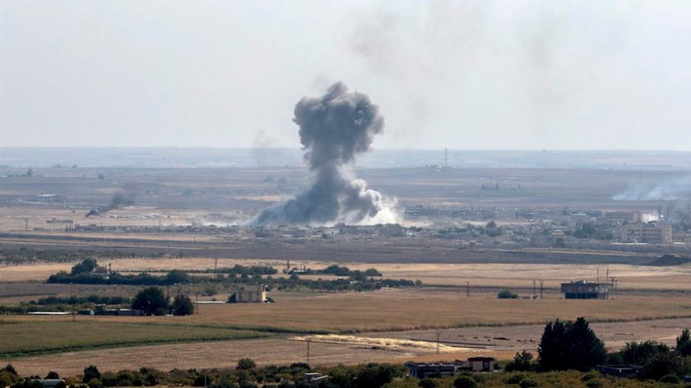 Suman 415 kurdos muertos tras ofensiva turca en Siria - Suman 415 kurdos muertos tras ofensiva turca en Siria