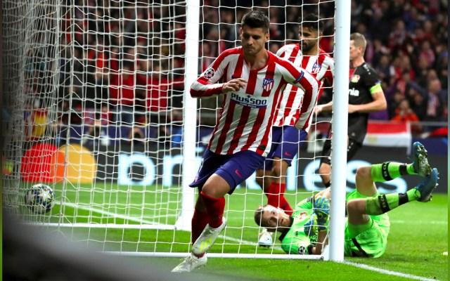Álvaro Morata da el triunfo al Atlético de Madrid frente al Leverkusen - Un testarazo de Álvaro Morata en el minuto 77, siete después de haber entrado al terreno de juego, dio el triunfo al Atlético de Madrid