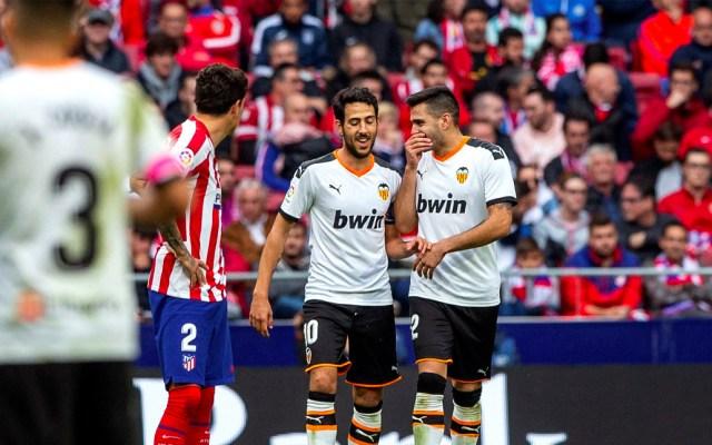 Valencia le saca el empate al Atlético de Madrid sin Héctor Herrera - Atlético de Madrid empata con el Valencia