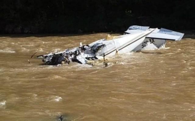 Suman seis muertos por desplome de avión pequeño en Michoacán - Foto de Quadratín