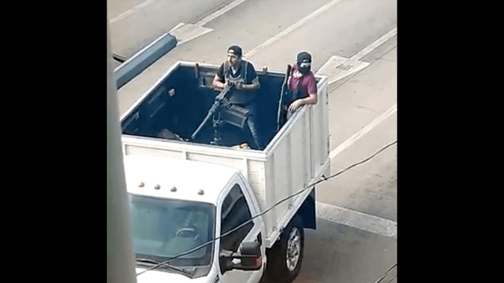 Balaceras y bloqueos en Culiacán, Sinaloa - Captura de pantalla
