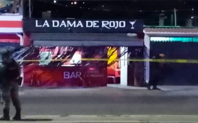 Asesinan en bar de Oaxaca a cuatro personas - Bar La dama de rojo en Oaxaca. Foto de Quadratín
