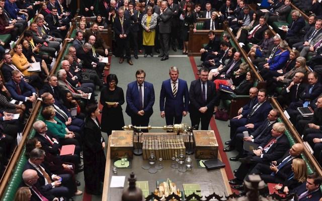 Cámara de los Comunes aprueba elecciones anticipadas el 12 de diciembre - Foto de EFE/EPA/JESSICA TAYLOR / UK PARLIAMENT.