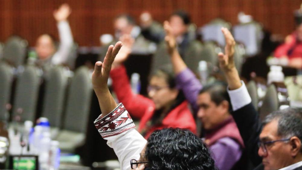 Diputados, en la tarea de elegir a nuevos consejeros del INE - votación San Lázaro reforma diputados Congreso