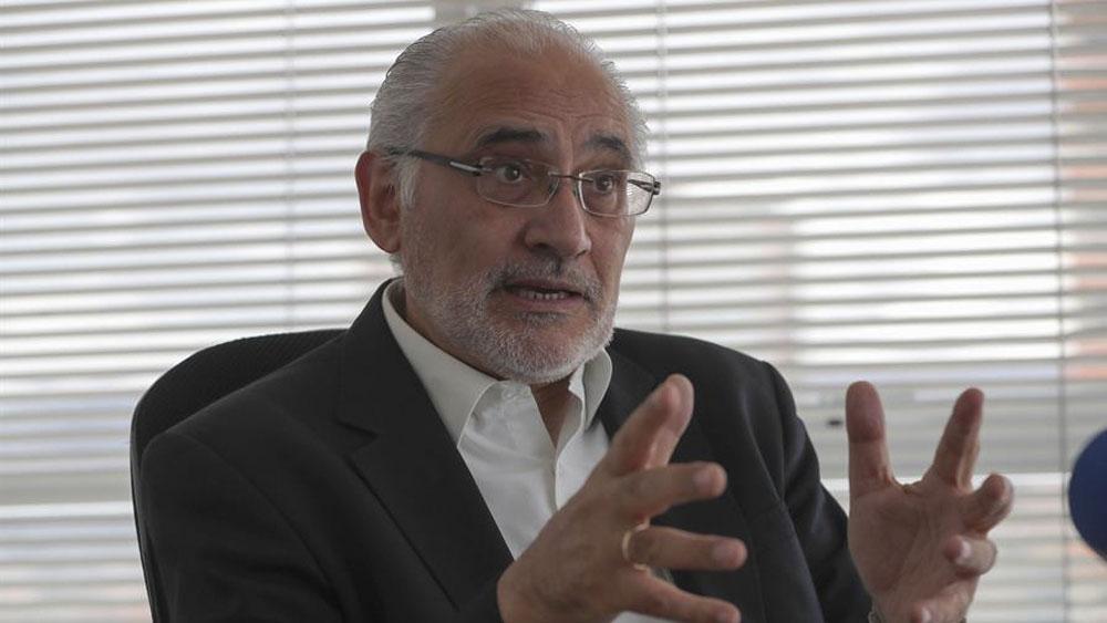 El opositor Carlos Mesa pide evitar que Bolivia se convierta en dictadura - El candidato opositor Carlos Mesa