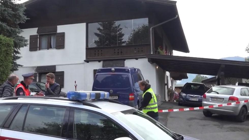 Asesina a su exnovia y otras 4 personas en Austria - Casa donde joven asesinó a su ex novia en Austria. Foto de Stern