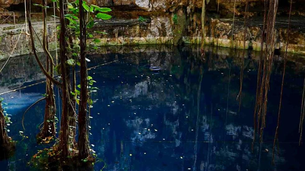 Joven colombiano muere ahogado en cenote cercano a Chichén Itzá - Cenote Yucatán