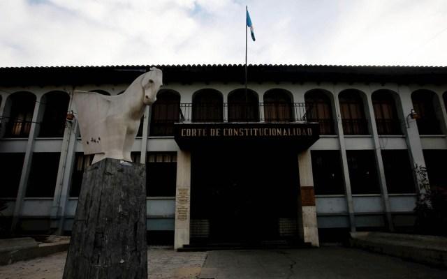 Constitucional de Guatemala suspende a la comisión que investigaba a CIGIG - Corte de Constitucionalidad de Guatemala