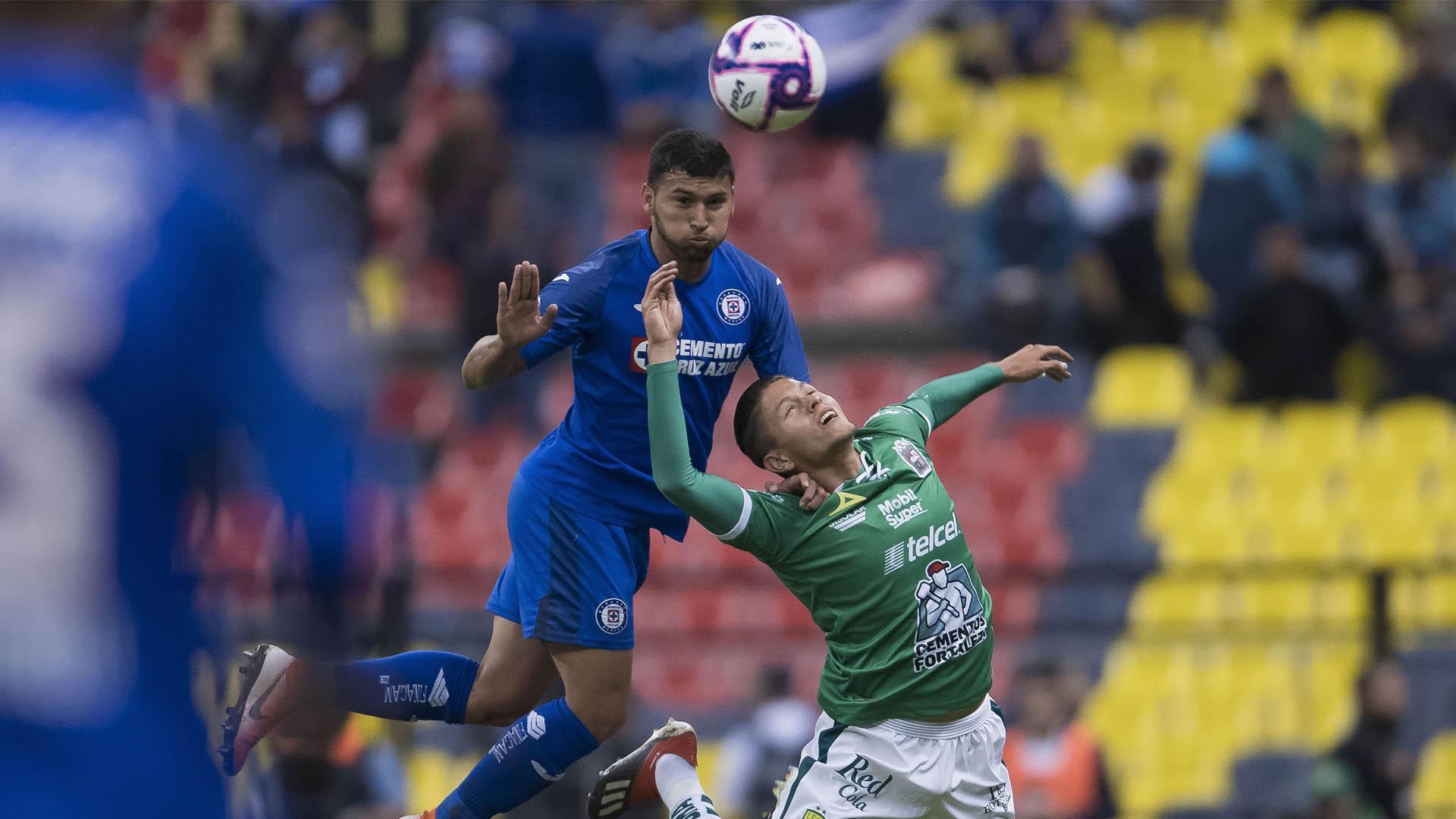 Cruz Azul partido León Liga MX