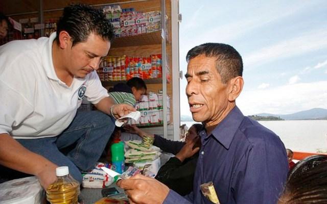 Corregirán sobreprecio en productos de tiendas Diconsa - diconsa