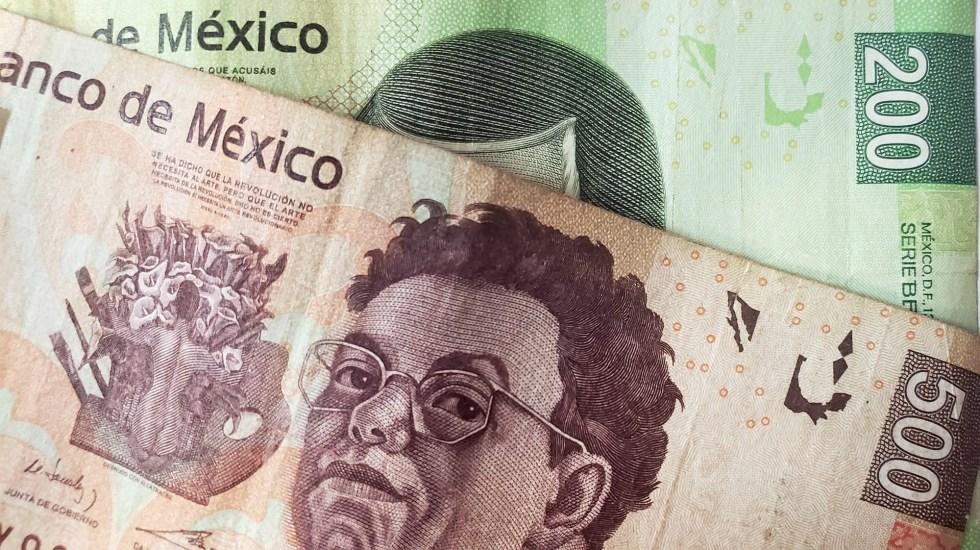 Aumento a salario mínimo se produjo sin efectos inflacionarios, destaca STPS - peso crecimiento Dinero pesos economía México billetes