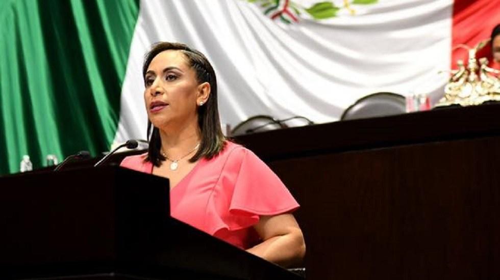 Diputada del PAN presenta tres denuncias contra Fernández Noroña - Diputada Adriana Dávila F. Foto de @AdrianaDavilaF