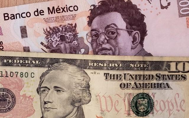 Peso se fortalece y rompe la barrera de los 19 pesos - Dólar dinero dólares pesos tipo de Cambio 2