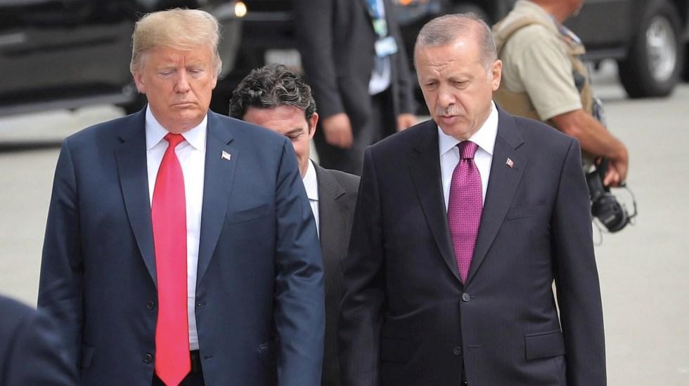 Trump recibirá a Erdogan en la Casa Blanca - Donald Trump Erdogan Turquía Estados Unidos