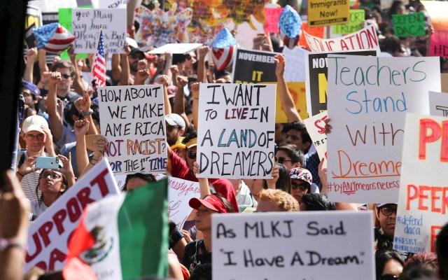 Dreamer mexicano tiene esperanza puesta en el Tribunal Supremo de EE.UU. - Dreamers DACA migrantes migración