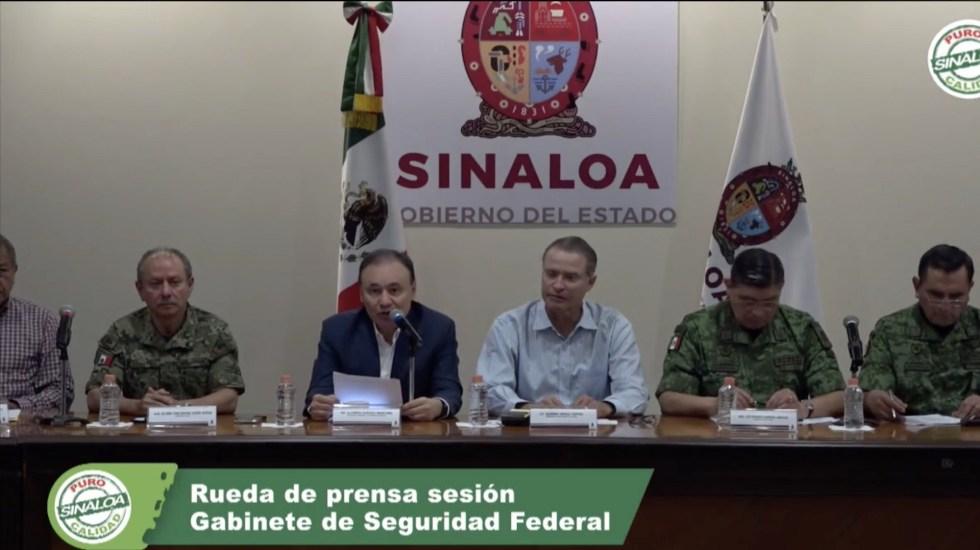 No hay falta de Estado ni ausencia del Gobierno Federal, asegura Durazo - Durazo