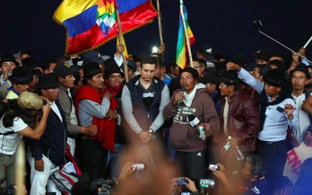 Al menos 714 personas fueron detenidas durante protestas en Ecuador - Manifestaciones de Ecuador