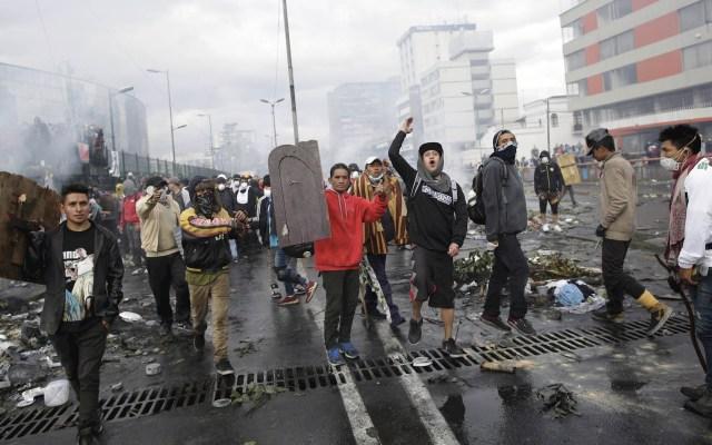 Calculan en 821 millones pérdidas por protesta social de octubre en Ecuador - Ecuador protestas toque de queda