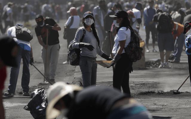 Levantan restricción de movilidad tras protestas en Ecuador - Foto de EFE