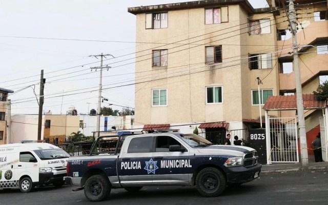 Niño se arroja de edificio para detener pelea de sus padres - Edificio de donde niño se aventó para detener pelea de sus padres, en Jalisco. Foto de @JaliscoRojo