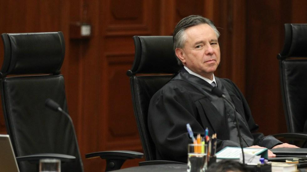 Medina Mora desbloqueó 2 mmdp de criminales: Santiago Nieto - ministro Eduardo Medina Mora SCJN