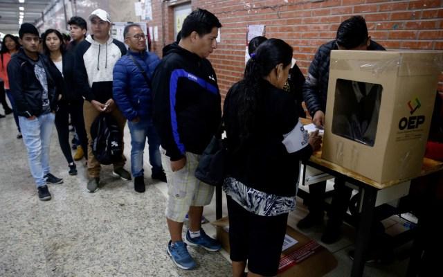 Bolivia tendrá nuevas elecciones en marzo de 2020 - Elecciones en Bolivia. Foto de EFE