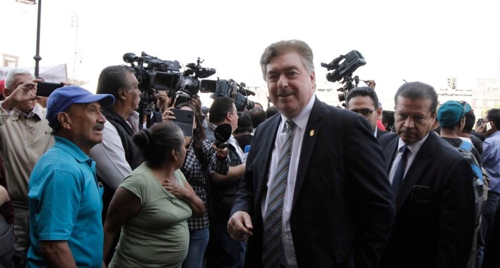 Gobierno de Baja California interpone controversia por ampliación de mandato - Enrique Vega de Lamadrid, gobernador de Baja California. Foto de Notimex