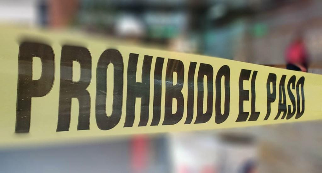 Comando mata a una persona y hiere a seis más en Nuevo León - Escena del crimen cinta