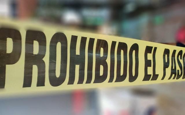 Asesinan a exagente de la Policía Federal en Iztapalapa - Escena del crimen cinta