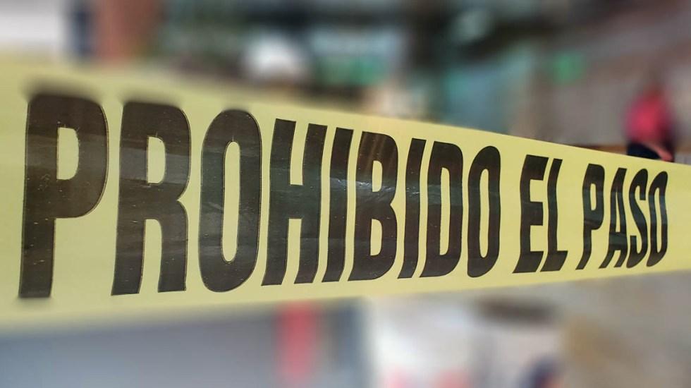 Asesinan a comandante regional de la FGR en San Luis Potosí - Escena del crimen cinta