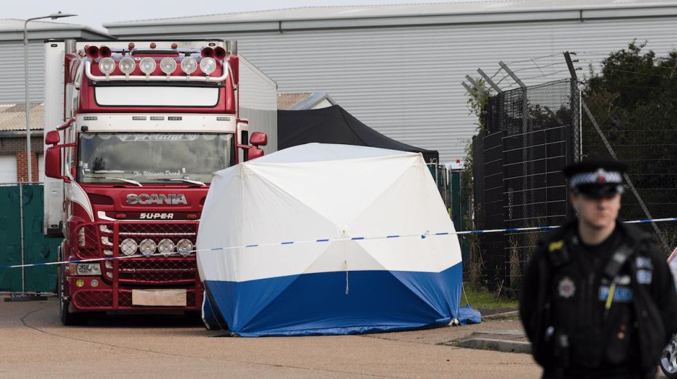 Detienen a cuarto sospechoso por camión con cadáveres encontrados en Essex - essex