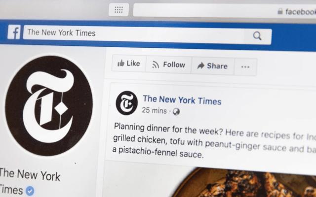 Facebook tendrá una nueva sección de noticias - Foto de Web Hosting @webhost