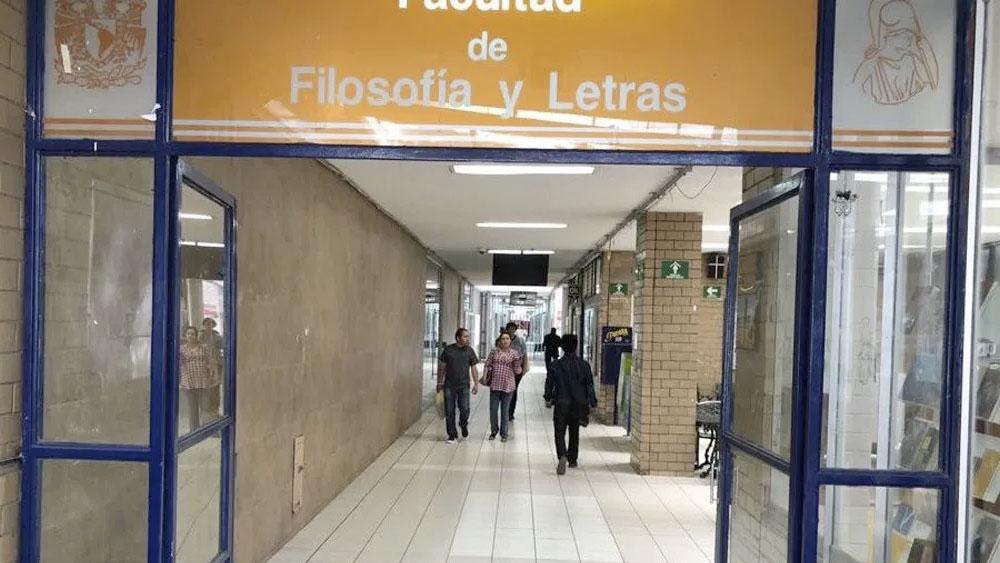 Extienden paro en Facultad de Filosofía y Letras de la UNAM - Facultad de Filosofía y Letras