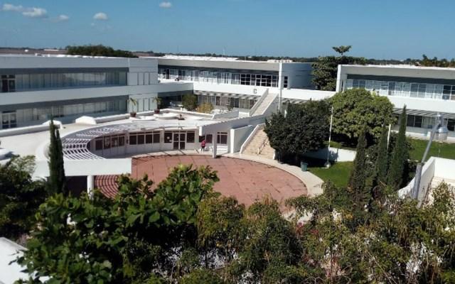 Autónoma de Yucatán interpone denuncia por amenaza de tiroteo - Facultad de Matemáticas de la Autónoma de Yucatán. Foto de Google Maps / Víctor Burgos