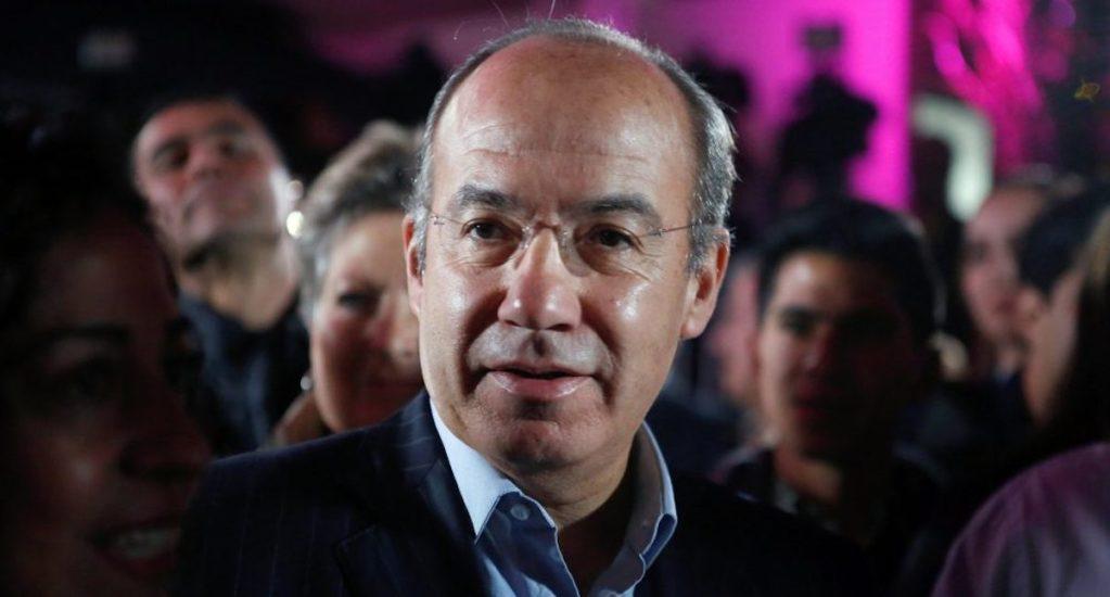 """Calderón se dice sorprendido por queja hacia Chumel Torres: """"el propio presidente pone apodos"""" - Felipe Calderón. Foto de Archivo Notimex.–"""
