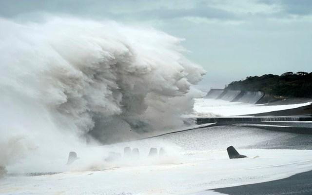 Tifón Hagibis toca tierra en Japón y deja al menos dos muertos - Tifón Hagibis