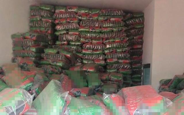Catean domicilio y recuperan 51 toneladas de semillas robadas en Veracruz - Toneladas de semillas recuperado en Veracruz