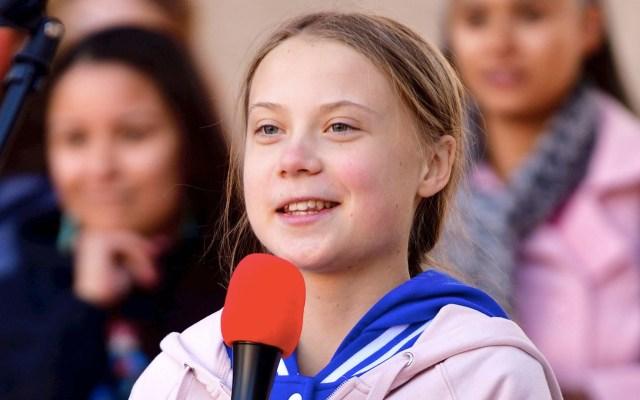 Greta Thunberg se manifiesta en Canadá contra la industria petrolera - Greta Thunberg