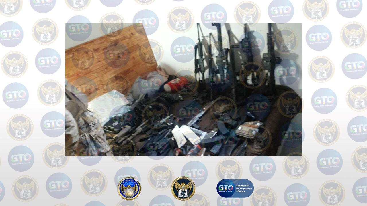 Guanajuato detenidos asegurado decomisado 2