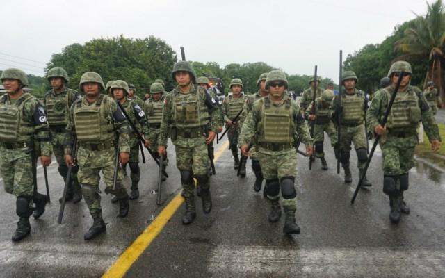 Resalta EE.UU. compromiso de México por desplegar GN en sus fronteras - Guardia Nacional